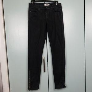 Paige black skinny jeans size 26 -C8